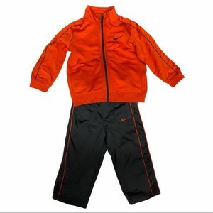 Nike track suit set